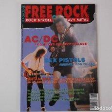 Revistas de música: REVISTA FREE ROCK Nº 8 DIC 92. NEIL YOUNG, SEX PISTOLS, AC/DC, BRIAN MAY, ROSENDO, WASP . Lote 152468718