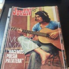 Revistas de música: MUNDO JOVEN 205 AÑO 1972 THE DOORS JOHN CAMPBELL CECILIA RAY CHARLES VÍCTOR MANUEL. Lote 152472872