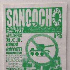 Magazines de musique: SANCOCHO METÁLICO FANZINE MCD A PALO SEKO M.C.D. BANDA BASSOTTI WIPE OUT SKATERS. Lote 152489286