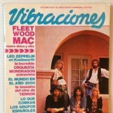 Revistas de música: VIBRACIONES. OCTUBRE 79. NÚMERO 61. RAIMON. FLEETWOOD MAC. REVISTA DE ROCK.. Lote 152561918
