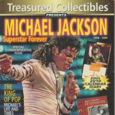 Revistas de música: REVISTA TREASURED COLLECTIBLES MICHAEL JACKSON 1958- 2009. Lote 152628286