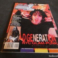 Revistas de música: REVISTA ROCK AND ROLL POPULAR NUM 1 294 ABRIL 98 D GENERATION. Lote 153114682