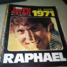 Revistas de música: REVISTA MUNDO JOVEN 118 2 ENERO 1971 RAPHAEL. Lote 153116234