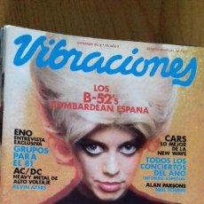 Revistas de música: VIBRACIONES Nº 75 DICIEMBRE 1980. Lote 153121282