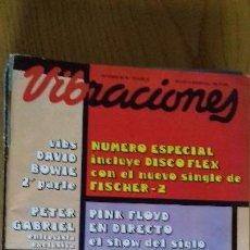 Revistas de música: VIBRACIONES Nº 73 OCTUBRE 1980. Lote 153122134