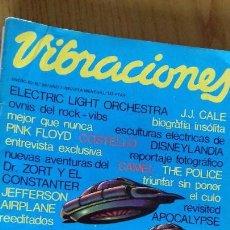 Revistas de música: VIBRACIONES Nº 64 ENERO 1980. Lote 153126210