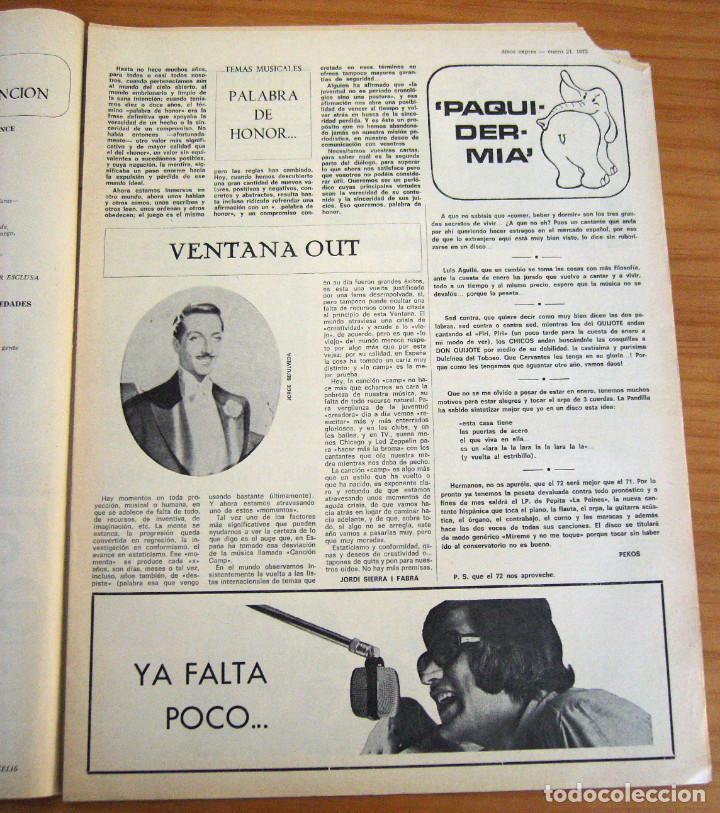 Revistas de música: DISCO EXPRES - BEATLES72 - NÚMERO 156 - AÑO 1972 - Foto 2 - 153249722