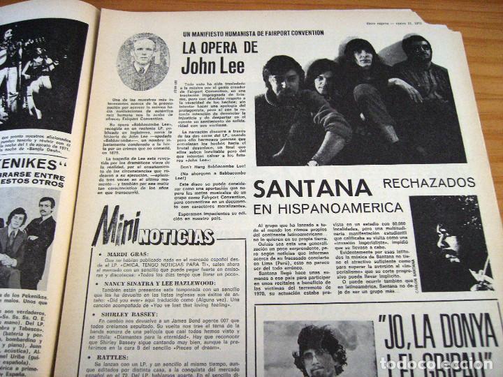 Revistas de música: DISCO EXPRES - BEATLES72 - NÚMERO 156 - AÑO 1972 - Foto 4 - 153249722
