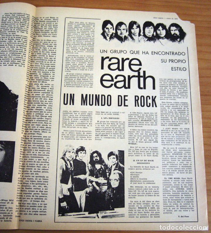 Revistas de música: DISCO EXPRES - BEATLES72 - NÚMERO 156 - AÑO 1972 - Foto 5 - 153249722
