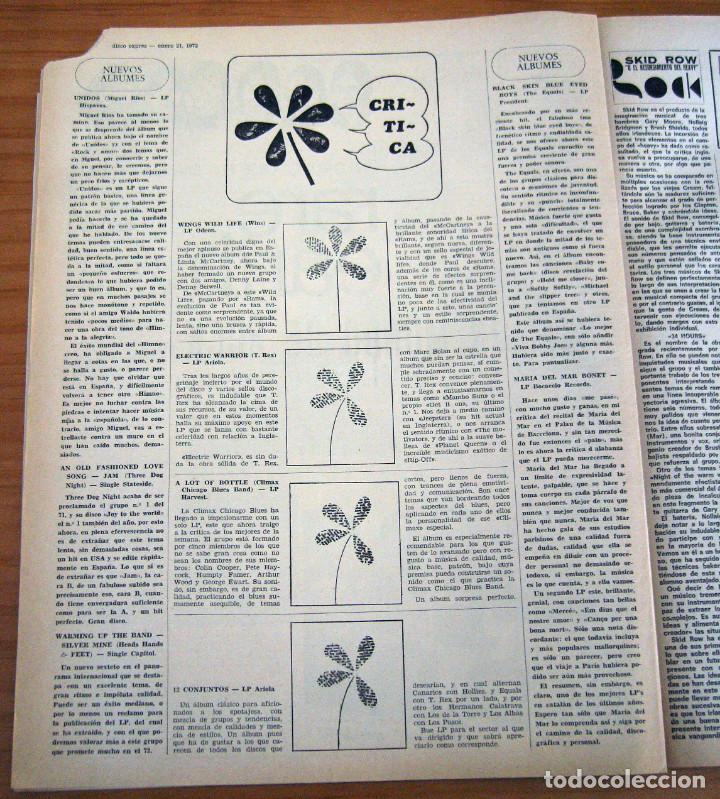 Revistas de música: DISCO EXPRES - BEATLES72 - NÚMERO 156 - AÑO 1972 - Foto 6 - 153249722