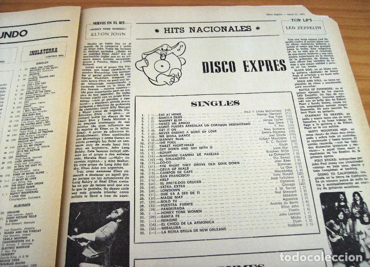 Revistas de música: DISCO EXPRES - BEATLES72 - NÚMERO 156 - AÑO 1972 - Foto 7 - 153249722