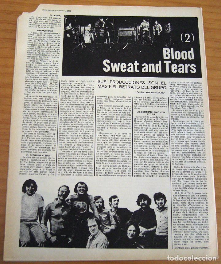 Revistas de música: DISCO EXPRES - BEATLES72 - NÚMERO 156 - AÑO 1972 - Foto 9 - 153249722