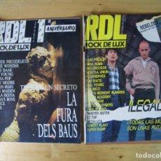 Revistas de música: REVISTA ROCK DE LUX LOTE REVISTAS NÚMEROS 13,15, 25, 49, 50, 86, RDL MUSICA. Lote 153570206