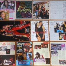 Revistas de música: AEROSMITH LOTE PRENSA 1990S/00S SPANISH CLIPPINGS STEVEN TYLER PHOTOS MAGAZINE ARTICLES. Lote 153958822
