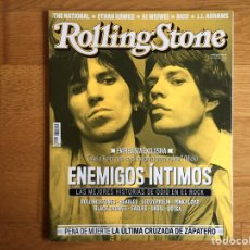 Revistas de música: ROLLING STONE #165 JULIO 2013: ENEMIGOS ÍNTIMOS, THE NATIONAL, ETHAN HAWKE, NICO,.... Lote 153976230