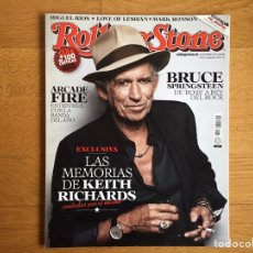 Revistas de música: ROLLING STONE #133 NOV 2010: KEITH RICHARDS, ARCADE FIRE, BRUCE SPRINGSTEEN, MIGUEL RIOS,.... Lote 153976924