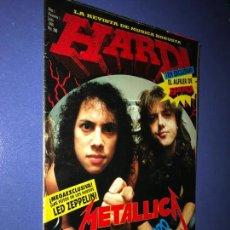 Revistas de música: HARD LA REVISTA DE MUSICA ROBUSTA AÑO 1 Nº 1 JULIO 1990. Lote 154466302