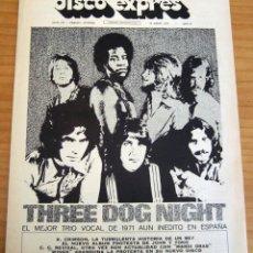 Revistas de música: DISCO EXPRES - NÚMERO 170 - AÑO 1972 - MUY BUEN ESTADO. Lote 154491906