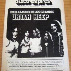 Revistas de música: DISCO EXPRES - NÚMERO 172 - AÑO 1972 . Lote 154495066