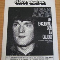 Revistas de música: DISCO EXPRES - NÚMERO 184 - AÑO 1972 . Lote 154496014