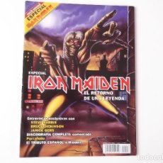 Revistas de música: REVISTA ROCK SOUND ESPECIAL IRON MAIDEN (IMPRESIONANTES FOTOGRAFIAS, TODA LA REVISTA A COLOR). Lote 154507890