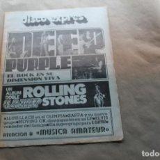 Revistas de música: DISCO EXPRES Nº 208, CON DEEP PURPLE, ROLLING STONES, AÑO 1973. Lote 154519922
