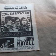 Revistas de música: DISCO EXPRES Nº 204, AÑO 1972. Lote 154520162