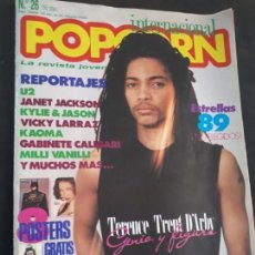 Revistas de música: REVISTA POPCORN Nº 26 U2 JANET JACKSON POSTER MADONNA. Lote 154637250
