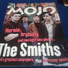Revistas de música: REVISTA MOJO ( THE SMITHS ) ABRIL 2001 MORRISSEY. Lote 154862902