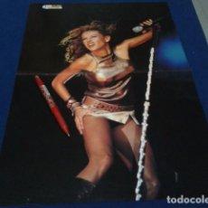 Revistas de música: POSTER DOBLE REVISTA TOP MUSIC AÑOS 90 ( PAULINA RUBIO & KYLIE MINOGUE ) Nº 59 Y 60. Lote 154868498