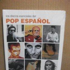 Revistas de música: JESÚS ORDOVÁS - LOS DISCOS ESENCIALES DEL POP ESPAÑOL - LUNWERG ED. 2010 PRECINTADO¡¡ PEPETO. Lote 155411594