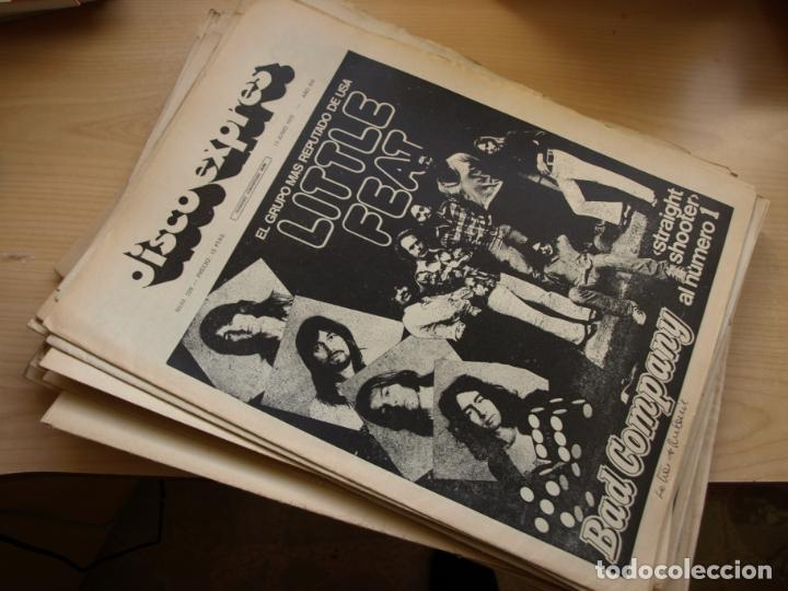 DISCO EXPRES - REVISTA MUSICAL - LOTE DE 32 NÚMERO - SE VENDEN SUELTOS (Música - Revistas, Manuales y Cursos)