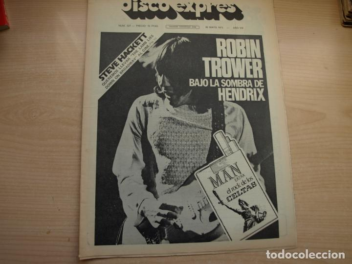 Revistas de música: DISCO EXPRES - REVISTA MUSICAL - LOTE DE 32 NÚMERO - SE VENDEN SUELTOS - Foto 2 - 155433822