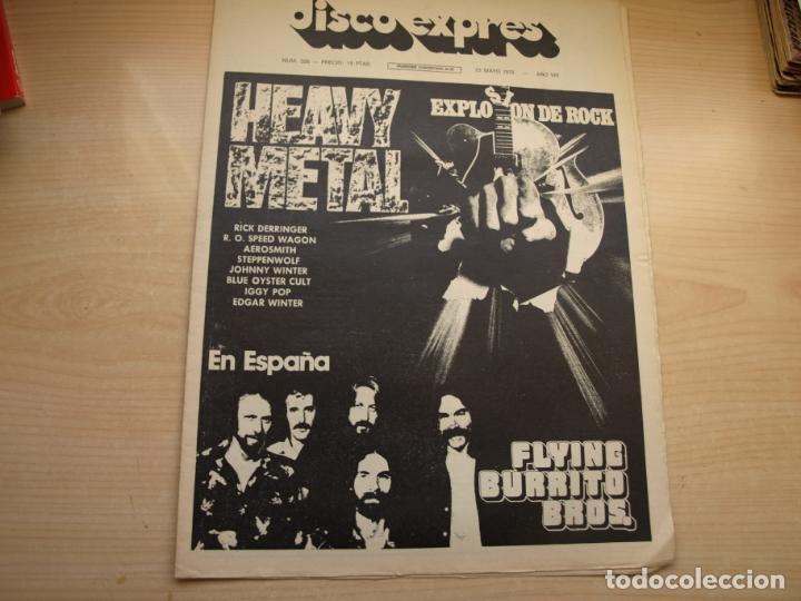 Revistas de música: DISCO EXPRES - REVISTA MUSICAL - LOTE DE 32 NÚMERO - SE VENDEN SUELTOS - Foto 3 - 155433822