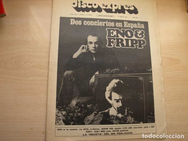 Revistas de música: DISCO EXPRES - REVISTA MUSICAL - LOTE DE 32 NÚMERO - SE VENDEN SUELTOS - Foto 4 - 155433822
