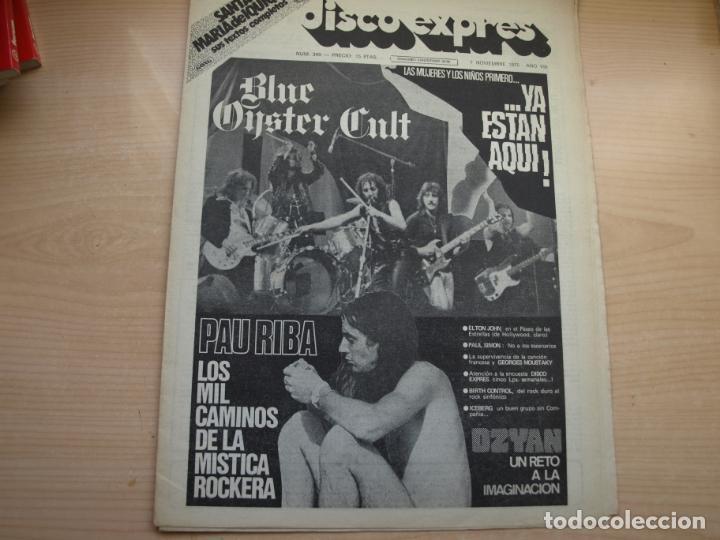 Revistas de música: DISCO EXPRES - REVISTA MUSICAL - LOTE DE 32 NÚMERO - SE VENDEN SUELTOS - Foto 5 - 155433822