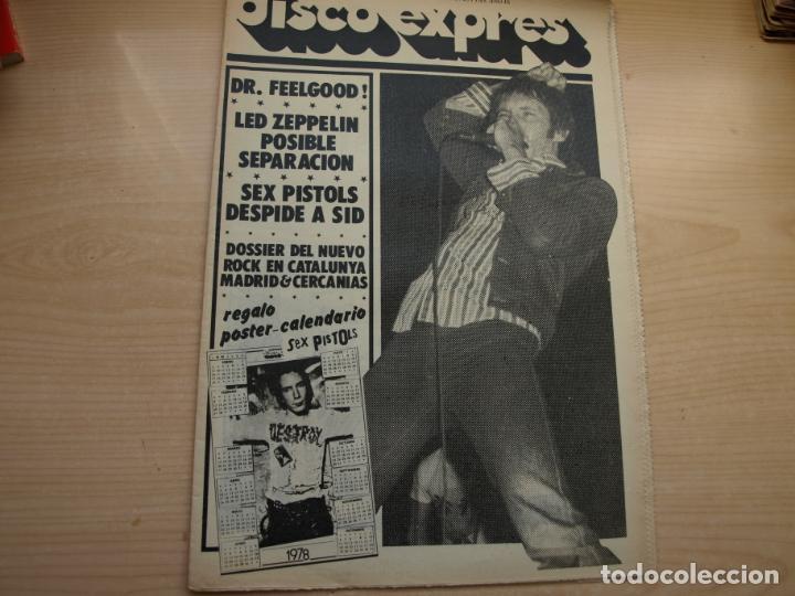 Revistas de música: DISCO EXPRES - REVISTA MUSICAL - LOTE DE 32 NÚMERO - SE VENDEN SUELTOS - Foto 6 - 155433822