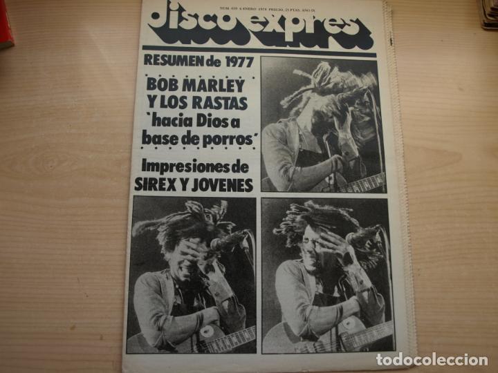 Revistas de música: DISCO EXPRES - REVISTA MUSICAL - LOTE DE 32 NÚMERO - SE VENDEN SUELTOS - Foto 7 - 155433822