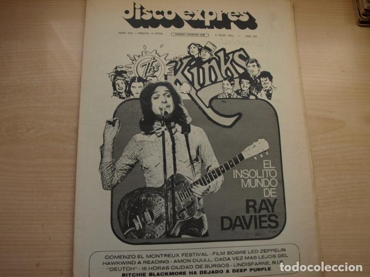 Revistas de música: DISCO EXPRES - REVISTA MUSICAL - LOTE DE 32 NÚMERO - SE VENDEN SUELTOS - Foto 8 - 155433822