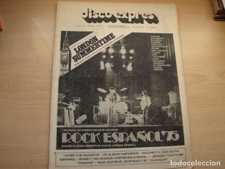 Revistas de música: DISCO EXPRES - REVISTA MUSICAL - LOTE DE 32 NÚMERO - SE VENDEN SUELTOS - Foto 9 - 155433822