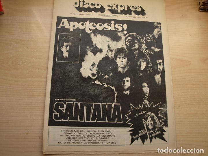 Revistas de música: DISCO EXPRES - REVISTA MUSICAL - LOTE DE 32 NÚMERO - SE VENDEN SUELTOS - Foto 12 - 155433822