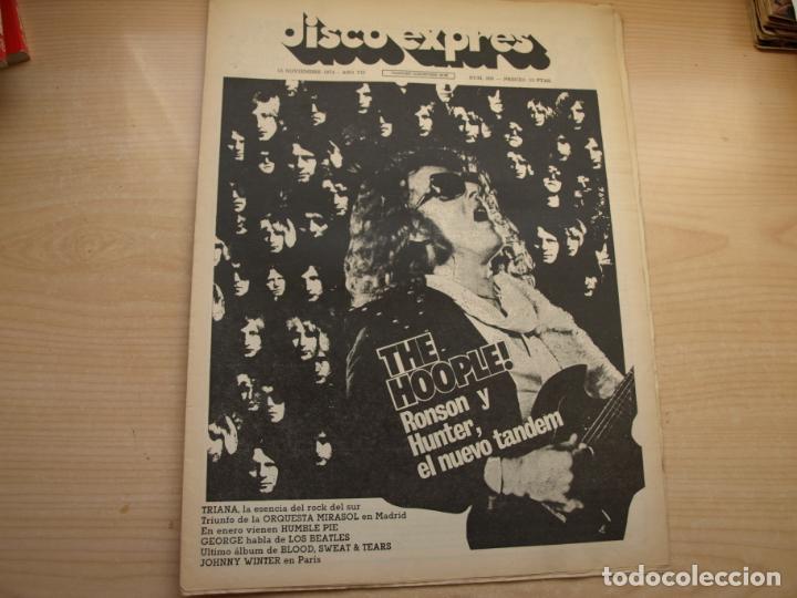 Revistas de música: DISCO EXPRES - REVISTA MUSICAL - LOTE DE 32 NÚMERO - SE VENDEN SUELTOS - Foto 13 - 155433822