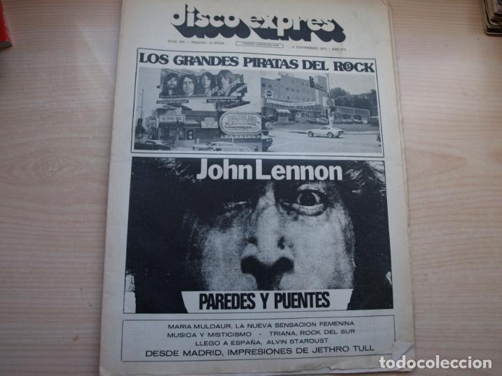 Revistas de música: DISCO EXPRES - REVISTA MUSICAL - LOTE DE 32 NÚMERO - SE VENDEN SUELTOS - Foto 14 - 155433822