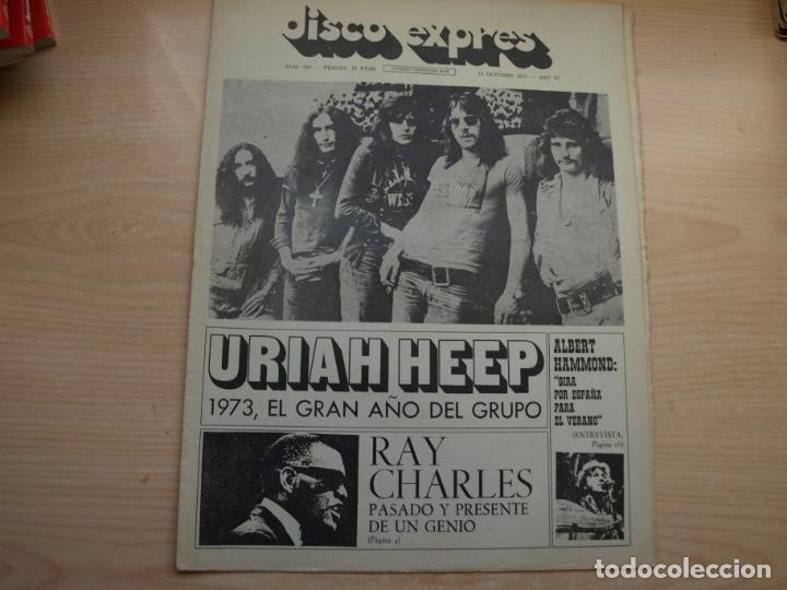 Revistas de música: DISCO EXPRES - REVISTA MUSICAL - LOTE DE 32 NÚMERO - SE VENDEN SUELTOS - Foto 16 - 155433822