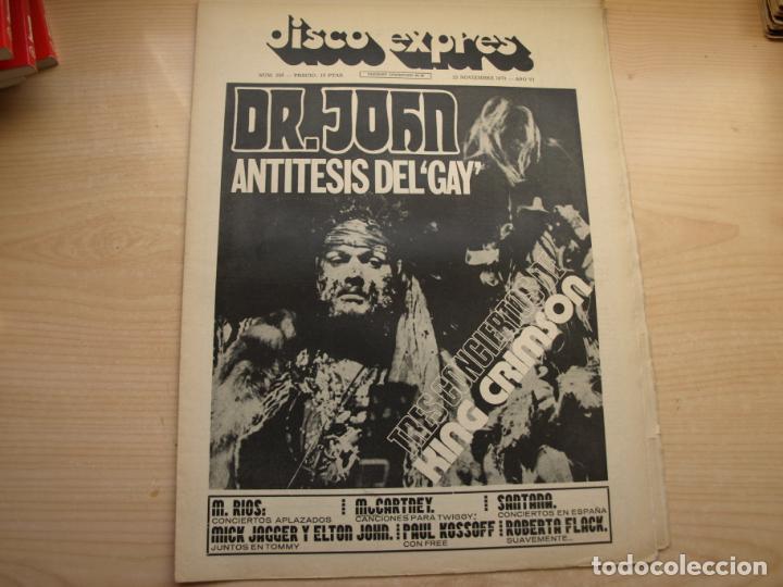Revistas de música: DISCO EXPRES - REVISTA MUSICAL - LOTE DE 32 NÚMERO - SE VENDEN SUELTOS - Foto 17 - 155433822