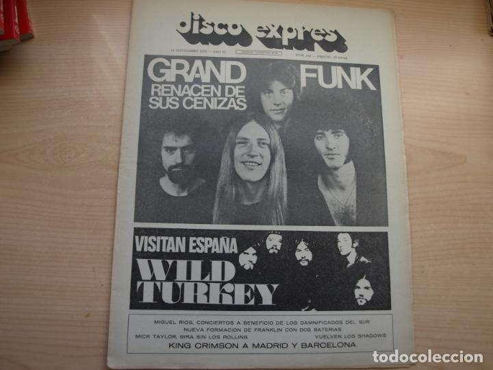 Revistas de música: DISCO EXPRES - REVISTA MUSICAL - LOTE DE 32 NÚMERO - SE VENDEN SUELTOS - Foto 18 - 155433822