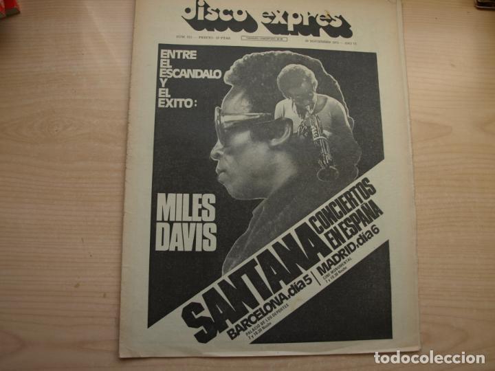 Revistas de música: DISCO EXPRES - REVISTA MUSICAL - LOTE DE 32 NÚMERO - SE VENDEN SUELTOS - Foto 19 - 155433822