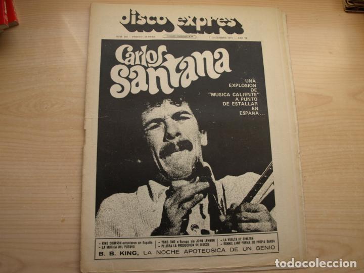 Revistas de música: DISCO EXPRES - REVISTA MUSICAL - LOTE DE 32 NÚMERO - SE VENDEN SUELTOS - Foto 20 - 155433822