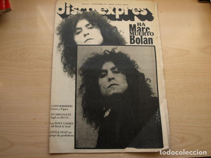 Revistas de música: DISCO EXPRES - REVISTA MUSICAL - LOTE DE 32 NÚMERO - SE VENDEN SUELTOS - Foto 21 - 155433822
