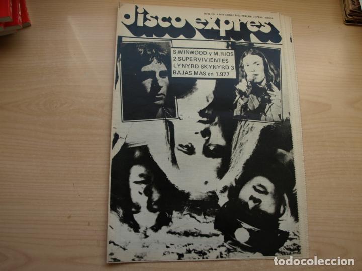 Revistas de música: DISCO EXPRES - REVISTA MUSICAL - LOTE DE 32 NÚMERO - SE VENDEN SUELTOS - Foto 22 - 155433822